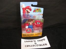 "World of Super Mario Nintendo Mario with Cappy 2.5"" Action figure Jakks ... - $10.64"