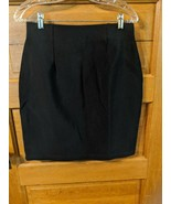 Dana B and Karen Size M Skirt Pencil Black Stretchy Womens - $14.97