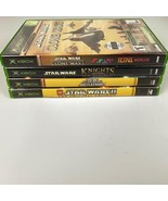 Microsoft Xbox Video Game Lot 4 Game Bundle Star Wars Battlefront Clone ... - $29.99