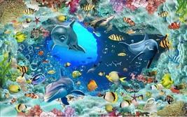 3D sea fish 0247 Floor WallPaper Murals Wall Print Decal 5D AJ WALLPAPER - $58.51+