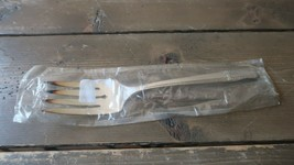 New In Package Vintage Silverplate Oneida Prestige Grenoble Cold Meat Fork - $13.86