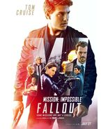 Mission Impossible Fallout - original DS movie poster - D/S 27x40 FINAL... - $28.00