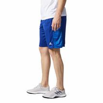 Adidas Men's Performance Short, Glitch Panel, Blue, Large - $16.14