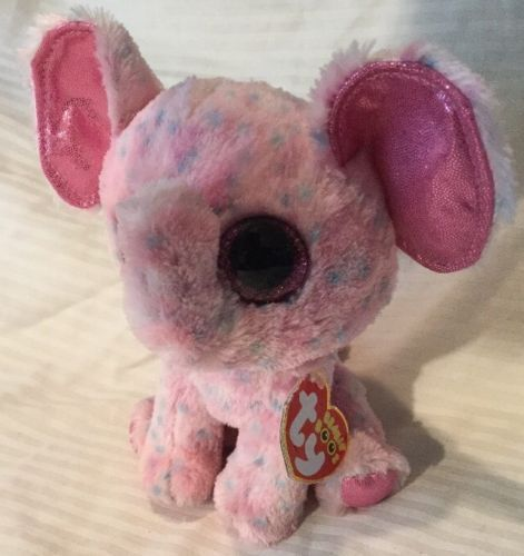 ELLIE the Pink Elephant Glitter Eyes 6 and 24 similar items 24c482a06b02
