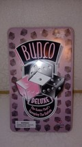 Bunco Deluxe Game Cardinal Tin Box RARE Complete With Bell - $23.71