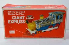 Vintage Toy Train Engine Locomotive Giant Express - Lights and Sounds fr... - $26.97