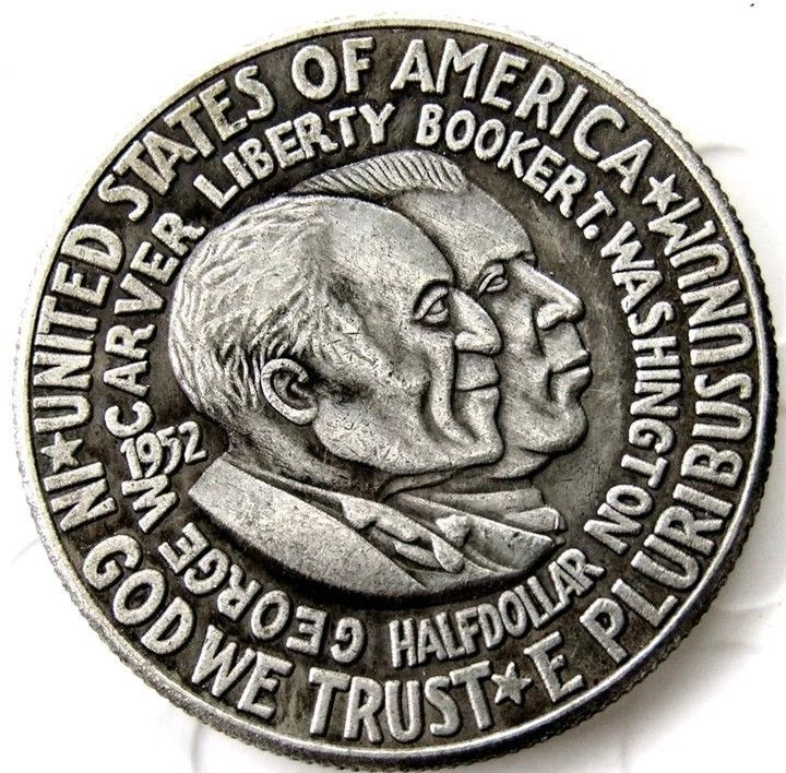 Primary image for 1952 Washington Carver Commemorative Half Dollar Casted Coin