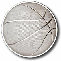 2016 1 oz Monarch Domed Basketball, 1 oz Silver - $45.00