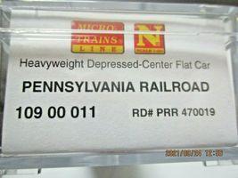 Micro-Trains # 10900011 Pennsylvania Railroad Depressed-Center Flat Car N-Scale image 6