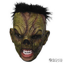 Ghoulish Men's Deluxe Chinless Monster Horror Party Latex Halloween Cost... - £20.87 GBP