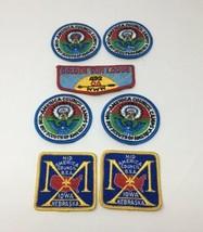 Mid America Council Iowa Nebraska BSA Boy Scouts Patch Lot of 7 New NOS 17-2447 - $13.81