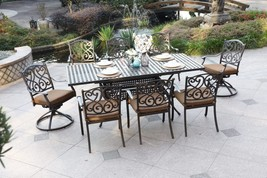 Brand New Patio - 9 pieces set cast aluminum outdoor furniture - $1,699.99