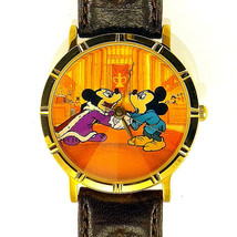 Mickey 'The Prince And The Pauper,' NIB Unworn, Leather Watch LTD # 632/... - $84.00