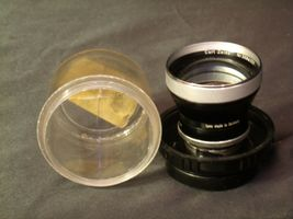 Carl Zeiss Pro-Tessar Lens f=85mm with fitted Zeiss Ikon Case AA-192031 Vintage image 5