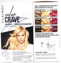 2 Clairol Color Crave High Lift Transformative Multi Technique Perm Bleach Kit - $25.99