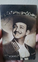 MEXICAN LEADING ACTOR & TENOR JORGE NEGRETE , AUTOGRAPHED PHOTO SIGNED. ... - $112.10