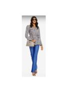 JOY IMAN Fashionably Functional RFID Leather Bag, Taupe Blush - $39.59