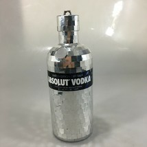 Absolut Vodka Mirrored Disco Ball Bottle Limited Edition Empty No Alcohol - $41.65
