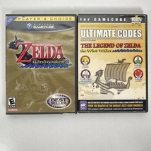 The Legend of Zelda The Wind Waker GameCube 2003 W/Manual + Ultimate Codes - $58.69