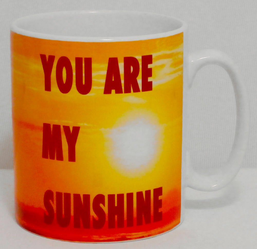 You Are My Sunshine Mug Can Personalise Great Sister Mum Mummy Mother's Day Gift