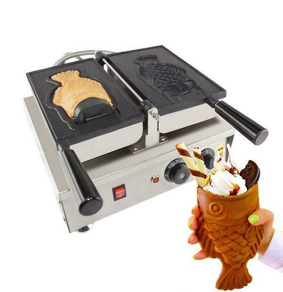 Primary image for ALDKitchen Open Mouth Fish Waffle Maker | Commercial use | 1 Waffle