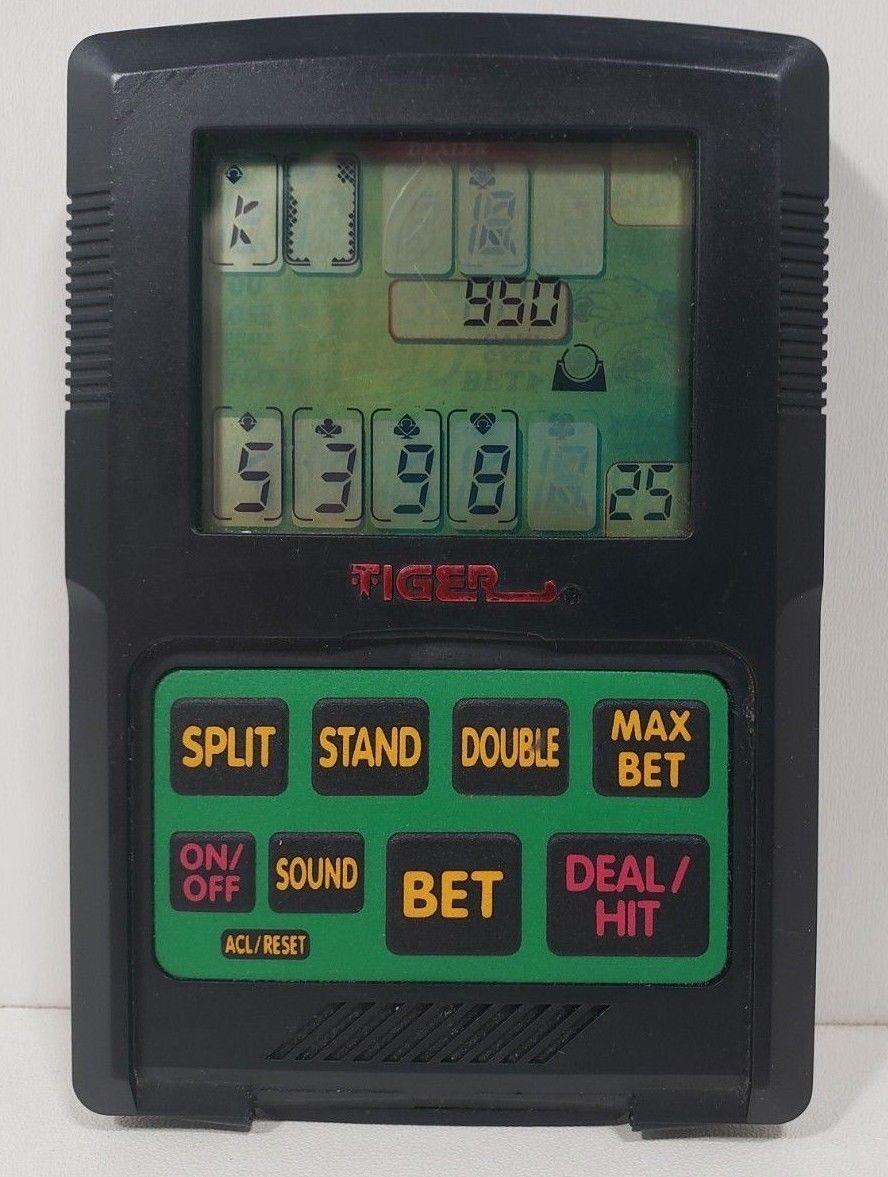 Tiger Handheld Electronic Blackjack Game.. 1993 image 2