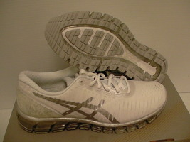 Women's Asics running shoes gel quantum 360 white silver snow size 7 us - $138.55