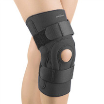 FLA Safe T-Sport Hinged Stabilizer Knee Brace XX-Large-Black - $44.19