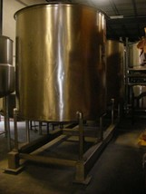 1,000 Gallon Stainless Steel Open Mix Top Tank in NJ - $6,900.00