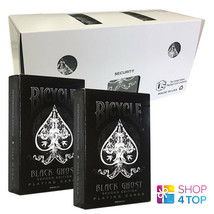 12 Decks Bicycle Ghost Black Ellusionist Playing Cards Magic Sealed Box Case New - $122.06