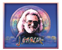 Grateful Dead Jerry Garcia Wetlands Outdoor Sticker Ships First Class Wi... - $6.78