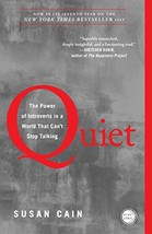 Quiet: The Power of Introverts in a World That Can't Stop Talking - $21.08