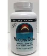 (New) Source Naturals Mucuna Dopa, 120 capsule - $18.99