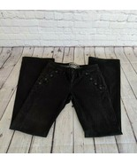 Daughters of the Liberation Anthropologie | Size 04 Black Cotton Wide Le... - $27.80