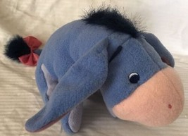 "EEYORE Baby Rattle Fisher Price Pooh and Friends 2001"" Plush Stuffed Animal 10"" - $9.89"