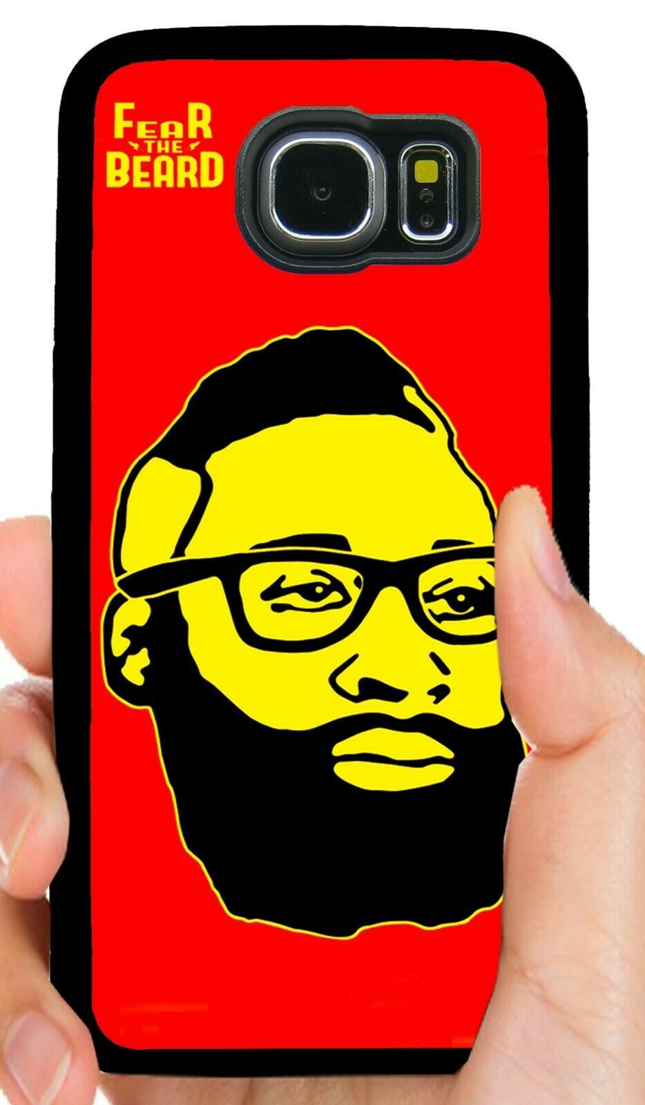 JAMES HARDEN ROCKETS PHONE CASE FOR SAMSUNG NOTE GALAXY S5 S6 S7 S8 S9 S10 PLUS