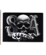 Sons of Anarchy TV Series S Skull A SAMCRO Logo Refrigerator Magnet, NEW... - $3.99