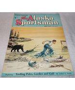 The Alaska Sportsman Magazine May 1953 Beth Eberhart cover - $7.00
