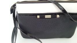 Anne Klein Beyond The Pale Crossbody Bag Black Magnolia - $14.36