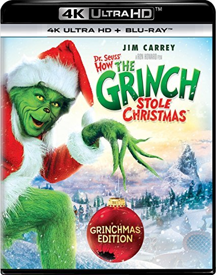 Dr. Seuss' How The Grinch Stole Christmas (4K Ultra HD + Blu-ray) (2000)
