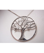 Remembrance Tree 925 Sterling Silver Necklace Corona Sun Jewelry - $14.84