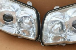 06-09 Toyota 4Runner Projector Headlight Head Light Lamps Set Pair L&R POLISHED image 6