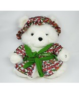 2007 MACY'S CHRISTMAS MRS SANTABEAR TEDDY BEAR ROBE HAT STUFFED ANIMAL P... - $45.82