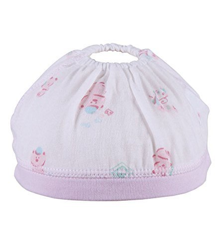Summer Baby Hats/Caps Double Pure Cotton Cloth Caps Pink