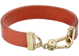 MARC by Marc Jacobs Simple Leather Bracelet, Pink - $49.49