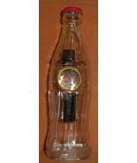 Mens Gold & Red Classic Coca~Cola Logo Wristwatch NOS - £7.95 GBP