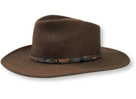 Stetson Water Repellent Crushable Hat - EXPEDITION - Loden Color Size S - $63.36