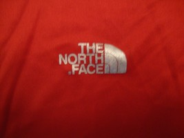 The North Face Apparel Logo Red Polyester T Shirt Size M - $17.56