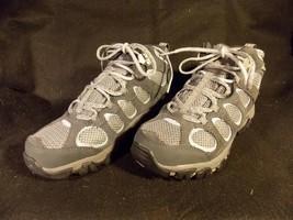 Women's Merrell Hilltop Vent Waterproof Castle Rock Gray Hiking Shoes Size 6 image 2