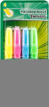 Ticonderoga Emphasis Chisel Tip Highlighters 4/pkg-assorted Colors #cid - $10.69